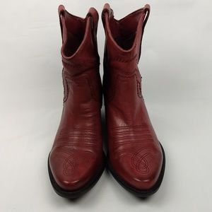 Franco Sarto Shoes - Franco Sarto Waco Western Ankle Boots 6.5M
